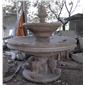 歐式石雕噴水跌水