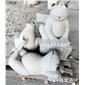 石雕喷水青蛙