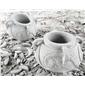 石雕陶罐型花钵