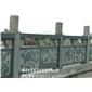浮雕青石栏板 石雕栏杆定做 河道水利护栏