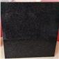 天然花岗岩 芝麻灰中国黑 细花黑色染板 国际标准板材 工厂直销