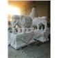 大型石雕大象 石雕大象含底座 黄锈石大象