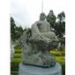 花岗岩石材佛像石雕 寺庙景观佛像