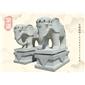 酒店门口石雕象 吉祥石象 大象雕刻 动物雕刻