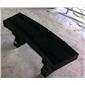 蒙古黑凳子-园林石凳-长板凳