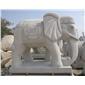 招财石象 石雕象 大象雕刻 动物雕刻