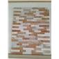黄木纹黄白杂色平板文化石   大量生产  大量批发 微信  13290629701
