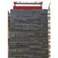 青黑杂色平板文化石  厂家直销 13290629701