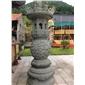 寺庙香炉 青石香炉 香炉雕刻