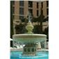 黃銹石噴水池 白麻石雕噴泉 惠安廠家精致工藝