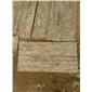 黄木纹 虎皮黄 炙麻黄文化石  厂家直销 大量批发