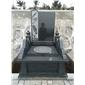 内蒙古黑色墓碑