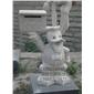 人物、动物石雕
