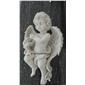 订做天使雕塑 西方人物 汉白玉石雕090