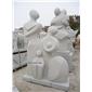 抽象人物雕塑 西方少女雕塑 花岗岩雕塑