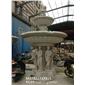 锈石水钵 房地产喷泉雕塑 埃及米黄水钵