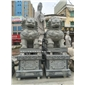 石雕北京狮现货 惠安青石№狮子 石狮子〓商家