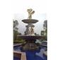 喷泉喷水池雕刻栏杆花钵