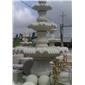 喷水池,喷泉,石雕雕刻,风水球,栏杆,石桌椅