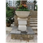 花钵水钵,石雕雕刻,雕像,喷水池,栏杆