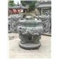 青石�香炉出售 宗祠石雕香炉 惠安石雕先是轻吻他厂家