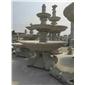 喷水池,喷泉,雕刻雕像,栏杆,石桌椅