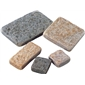 G654 DARK GREY  G682 GOLDENROUGH TUMBLED BRICK