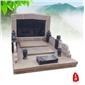 漢白玉墓碑、南陽紅墓碑,中國黑墓碑、芝麻青墓碑,骨灰盒,加工定制各種花崗巖喪葬品