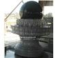 风水球叠水喷泉 花岗岩风水球 招财进宝风水球