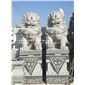 现货石雕狮子 花岗岩狮子雕刻 石雕狮子一对
