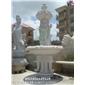 石雕喷泉厂家 广场大型喷泉雕塑 石材水钵