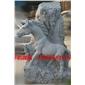 十二生肖马雕像,动物雕像,雕刻,浮雕,石雕