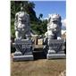 寺廟石雕獅子 戶外石獅子雕塑 石材獅子廠家