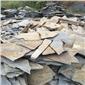乱板岩无规则碎拼石锈