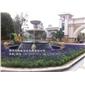 黃銹石噴水池 石雕噴泉制作 福建專業水缽廠家