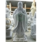 石雕孔子厂家 石雕孔子制作 校园孔子石像