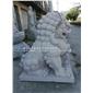 惠安石狮子定供奉做 白麻�e北京狮 青石献钱师
