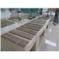 嘉岩石材自有红外线工厂 专业生产 贵州咖啡木纹大理石工程板