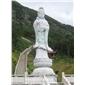大型石雕佛像观音 寺庙佛像雕塑石雕滴水观音