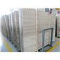水头木纹石厂家供应1.6cm厚超大板面白木纹大板