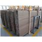 水头石材厂家供应咖啡木纹大板 2.0cm厚