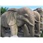 仿古石雕-大象
