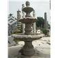 黄锈石喷泉花岗岩喷泉广场喷泉