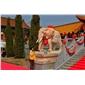 厂家石雕象大象汉白玉大象如意象