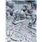 生产厂家石雕象大象汉白玉大象如意象