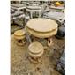 广场石桌石椅石凳棋牌石桌圆桌