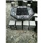 棋牌休闲石桌石椅石凳棋牌石桌圆桌