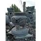 圆形香炉供桌石鼎寺庙雕刻佛台