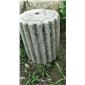 园林广场寺庙庭院用铺地石磨盘石��辊石碾老石槽古代石器水槽
