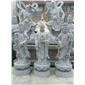 专业石雕十八罗汉十二生肖柱观音像如来像孔子像